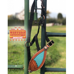 Turquoise Cattle Kate Halter